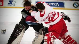 colorado avalanche vs detroit red wings u0027 u0027brawl in hockeytown