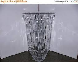 Vintage Waterford Crystal Signed 8 Inch Flower Vase In Crystal Vase Vintage Etsy Ca