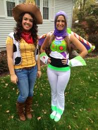 Woody Halloween Costumes Toy Story Alien Costume Pixar Halloween Couples Costume U2026 Pinteres U2026