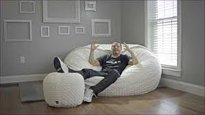 furniture wonderful giant bean bag sack bean bag mattress