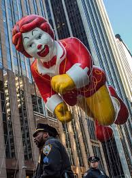 macy s thanksgiving parade is of balloons and security