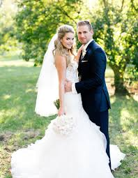 www wedding see bachelor alum ferrell s wedding dress photo