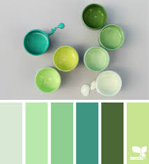 Green Color Color Collect Design Seeds Seeds And Inspiration