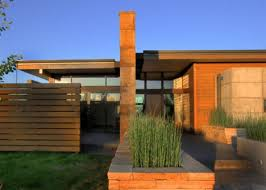 modern desert home design rustic modern earth wood steel high desert home