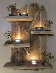 composizione di candele composizioni di pallet con candele ecco 17 idee