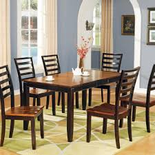 Two Tone Pedestal Dining Table Kitchen Magnificent Pedestal Table With Leaf Gray Kitchen Table