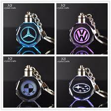 or custom car logo crafts with changing colors led