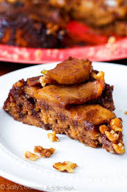 caramel apple upside down cake sallys baking addiction