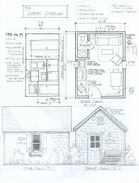 small cottages free house blueprints blueprint plan kevrandoz