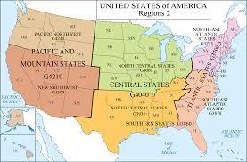 Sfsu Map Lc G Schedule Map 6 Usa Regions 2 Waml Information Bulletin