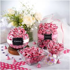 Hershey Kiss Flag Kisses Milk Chocolate Candy Pink Foil 4 1 Lb Online Only