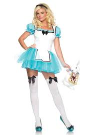 spirit of halloween costumes amazon com leg avenue women u0027 s 2 piece enchanted alice tutu apron