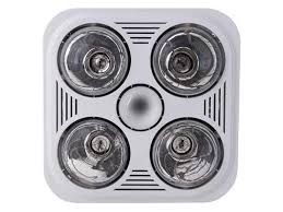 Fan Light Combo Bathroom Crex4w White Combo Bathroom Heater Fan And Light Exhaust Fans
