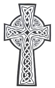 collection of 25 stylish tribal cross stencil