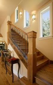 craftsman style stair railings craftsman cottage decor