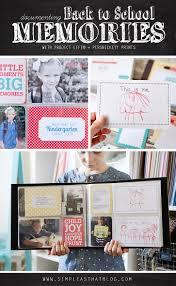 school memories album documenting school memories with project