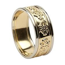 gold wedding bands for him gold wedding bands ideal weddings