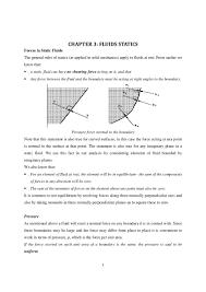 fluid mechanics notes statics