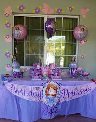sofia the party supplies my s 4th birthday at home sofia the party theme 2