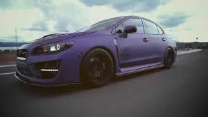 purple subaru impreza 2015 subaru sti sema 2014 mixxed auto design youtube