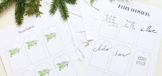 free christmas gift tag printable u0026 holiday cheer hiccup