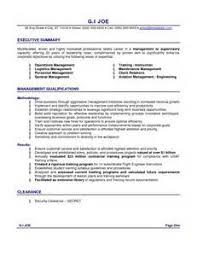 Sample Resume With Summary Statement by Cover Letter Sample Resume Summary Statements Biocareers Example