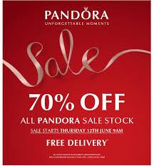 promotion alert upcoming pandora summer sale for the uk mora