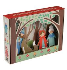 red riding hood puppet theatre dotcomgiftshop