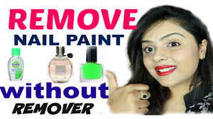 top 3 ways to remove nail polish without remover tanutalks