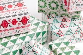 modern christmas wrapping paper mid century modern christmas gift wrap