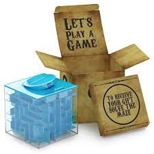 How Much To Give For A Wedding Gift Cash Amazon Com Money Maze Puzzle Box For Kids And Adults Unique Way