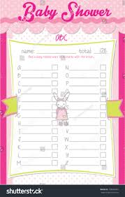 baby shower alphabet game answers choice image baby shower ideas