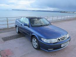 saab 9 3 convertible 2002 51 plate leather interior great
