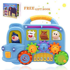 baby toys with lights and sound baby music toys learning and development fun musical car