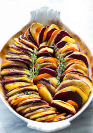 sweet potato thanksgiving side dish sweet potato and yukon gold bake recipe simplyrecipes com