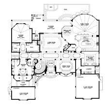 rectangle house plans one story 5 bed 3 bath house floor plans
