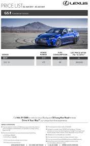 singapore motorshow 2017 lexus price list deals promotions and