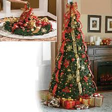 collapsible christmas tree pre decorated christmas tree ebay
