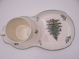 vintage spode made in tree tea and toast