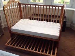 cosatto bedside cot co sleeper co sleeping 4 heights