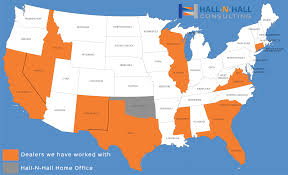 Colorado Concealed Carry Reciprocity Map by Hall N Hall Consulting