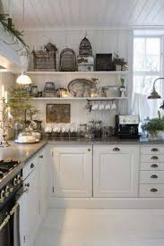 Shabby Chic Kitchen Island Shabby Chic Kitchens White Wood Kitchen Cabinets And Dining Table
