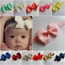 baby hair band baby bow headband ebay