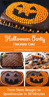 halloween party kansas city halloween party chocolate cake two sisters crafting
