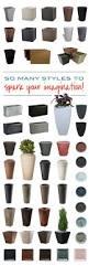 full image for cozy modern flower pot stands white folded design
