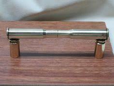 kitchen gun shotgun shell drawer cabinet door knob home decor kitchen den