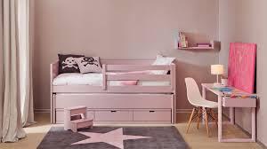 chambre fille movil avec lit et bureau assorti asoral so nuit