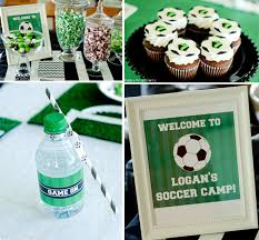 soccer party ideas soccer birthday party pizzazzerie