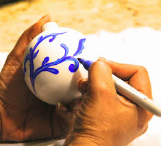 sheer serendipity how to make blue and white chinoiserie ornaments