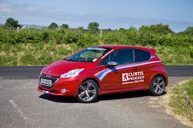 peugeot 208 red curtis peugeot let ucni loose in the new 208 gti used cars ni blog